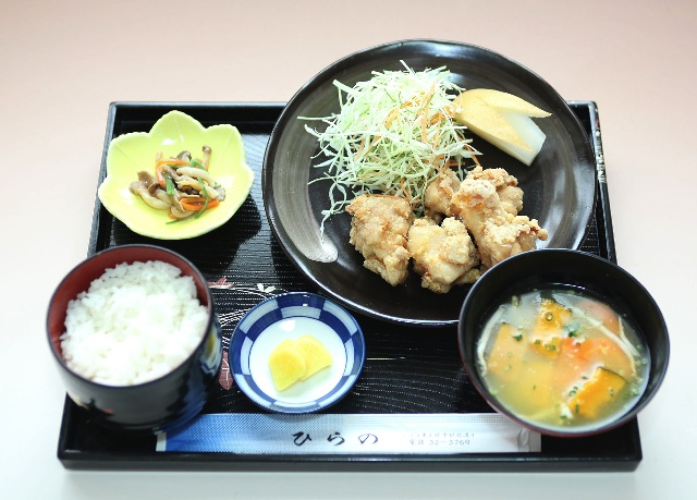 ひらの料理1