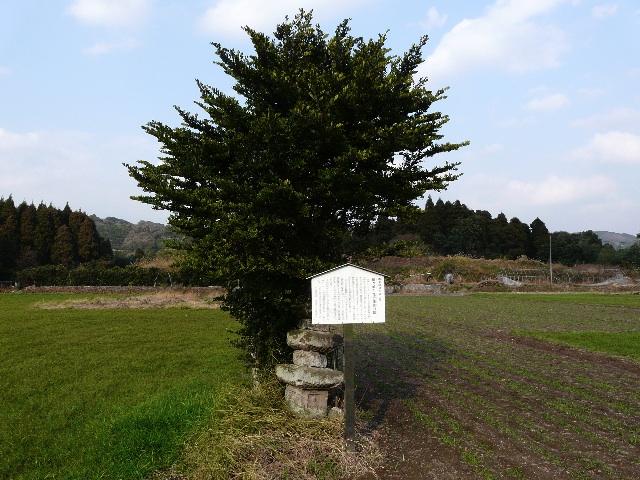鍋ヶ城と惟宗廣言の墓